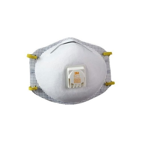 3M™ Particulate Respirator 8211, N95 w/ Faceseal (10/Bx) (4 Boxes) - R3-8211