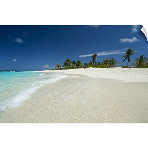 Anguilla Bar - CANVAS ON DEMAND Shoal Bay East, Anguilla Wall Peel Art Print, 60