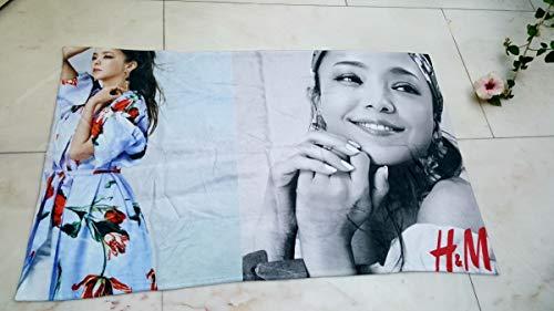 安室奈美恵 H&M 広告デザイン ビーチタオル H&M×Namie Amuroファイナルスペース
