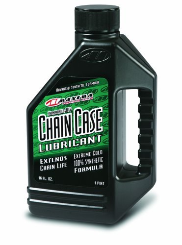 Maxima 45916 Synthetic Chain Case Lubricant for ATV/Snowmobile - 16 oz. Bottle by Maxima