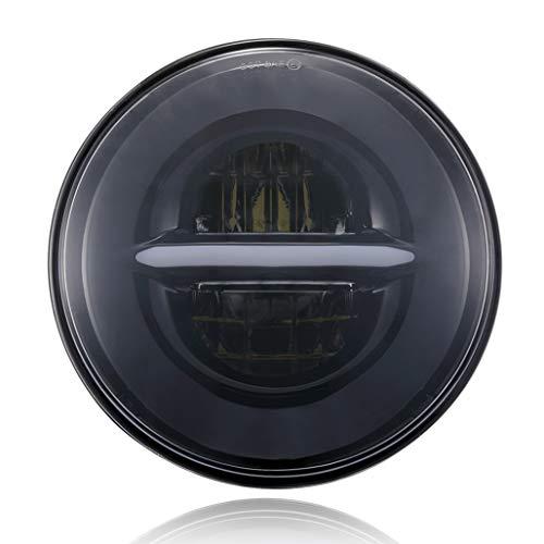 5 3/4 White Led Halo Halogen Light Bulb Headlight in US - 4