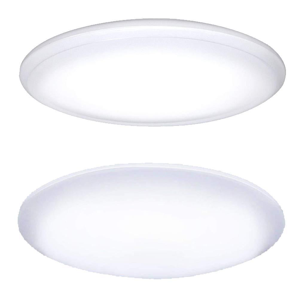 【セット販売】【限定】 アイリスオーヤマ LED シーリングライト 調光 調色 タイプ ~8畳 CL8DL-5.0AZ & アイリスオーヤマ LED シーリングライト 調光 タイプ ~6畳 CL6D-5.0 セット B07P4G4B6V