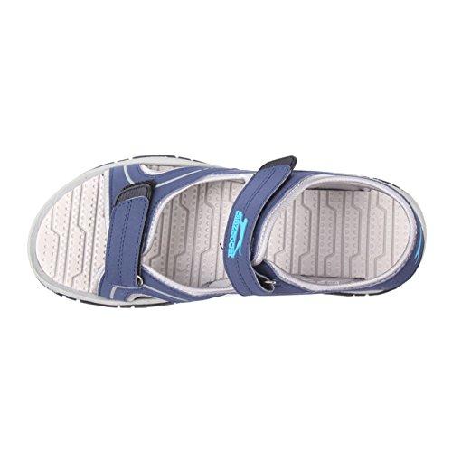 Blu Nero Sandals Uomo Blu Slazenger Wave marino wEtxpqnISF