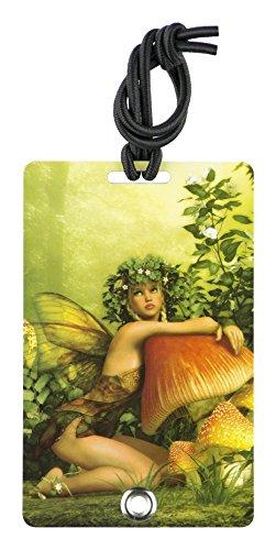 YaYtag Fun New Concept of Luggage Tag, Summer Fairy, 2 Piece