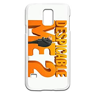 Zhongxx Despicable Me 2 Minions Vintage Plastic Case For Samsung Galaxy S5