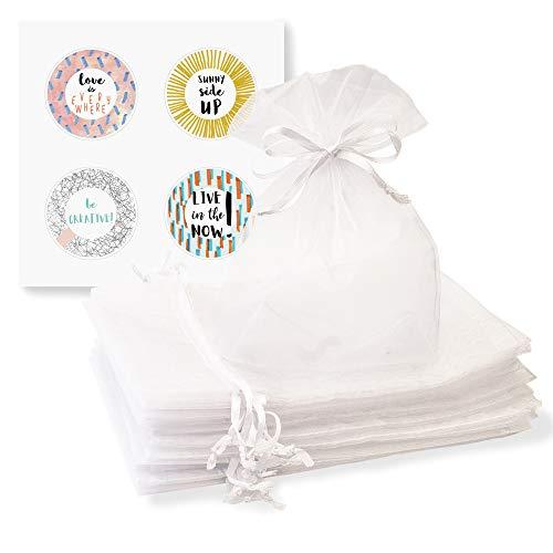 bags sheer drawstring gift