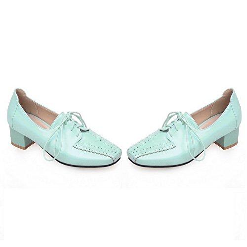 1TO9 - Zapatos de vestir para mujer, color azul, talla 43 EU