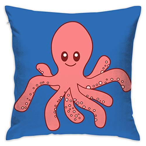 Karen Felix Throw Pillow Covers Squid Squad Decorative Cushion Case for Sofa Bedroom Car 18 X 18 Inch 45 X 45 cm]()