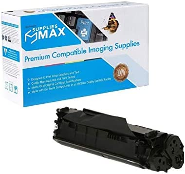 12A 2000 Page Yield SuppliesMAX Compatible Replacement for Elite Image 75101 Toner Cartridge - Equivalent to HP Q2612A // HP NO