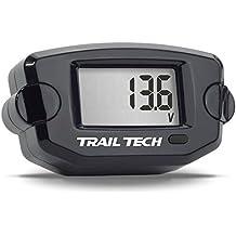 Trail Tech TTO Digital Voltage Gauge Meter Sensor ATV UTV Motorcycle Universal Off-Road 742-V00-BL