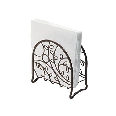 InterDesign Twigz Napkin Holder for Kitchen Countertops, Table - Bronze