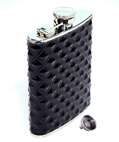 Flask Ounce Stainless Diamond Polyurethane