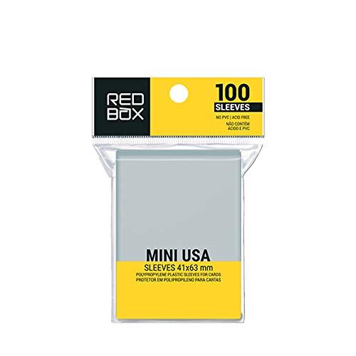 Sleeve – MINI USA (41x63mm) – Redbox
