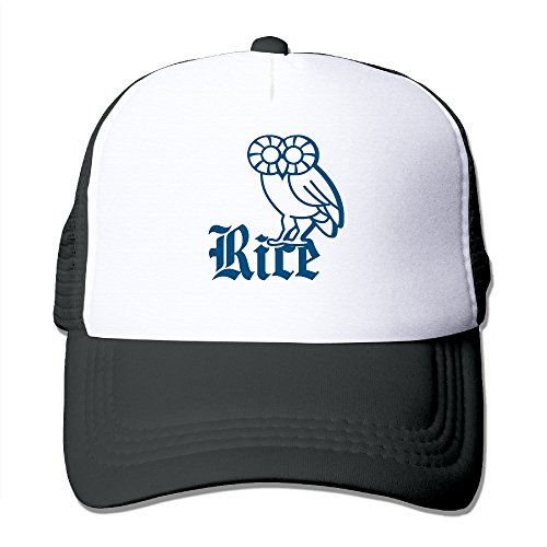 [ACMIRAN Rice University Owl Soft Mesh Hat One Size Black] (Sims 3 Bear Costume)