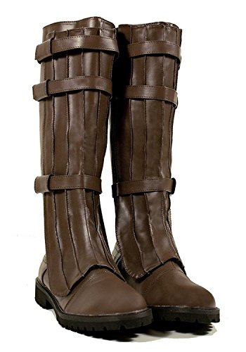 Super Hero Han Solo Captain Military Cosplay Steampunk Western Assassin's Creed Mens Boots