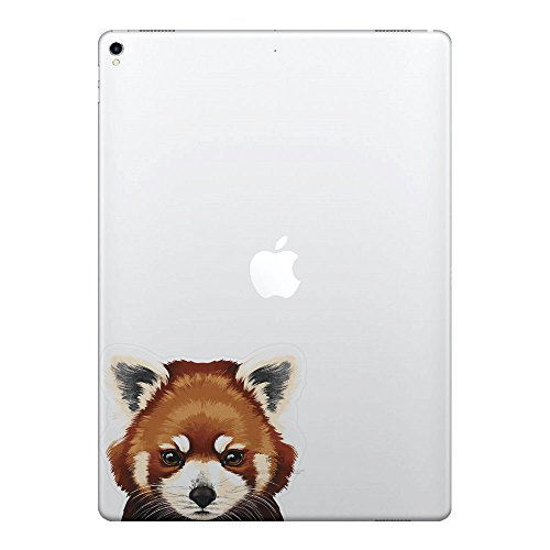 Vinyl Panda (FINCIBO 5 x 5 inch Red Panda Removable Vinyl Decal Stickers for iPad MacBook Laptop (Or Any Flat Surface))