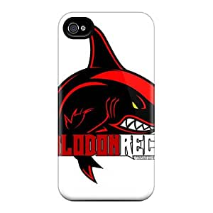AlissaDubois Iphone 4/4s Durable Hard Cell-phone Cases Unique Design Vivid Breaking Benjamin Pattern [nNO3449HslW]