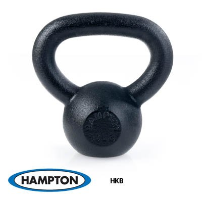 100 lb Black Hampton KettleBell 40mm Handle Each by Hampton Fitness