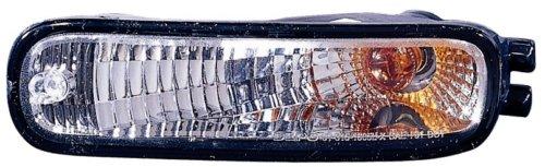 Nissan Altima Replacement Turn Signal Light Assembly (Diamond Design, Black) - 1-Pair AutoLightsBulbs