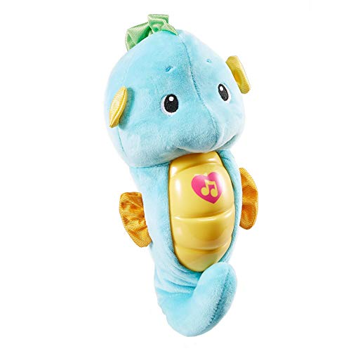 - Fisher-Price Soothe & Glow Seahorse, Blue