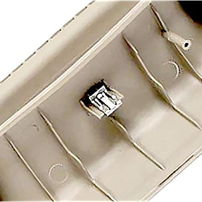 APDTY 141516 A Pillar Plastic Grab Handle Trim Molding Compatible With Front Right 2002-2008 Dodge Ram 1500 2003-2009 Ram 2500 3500 Pickup (Gray Color; Replaces 1TE74BD1AA, 5GR28BD1AH): Automotive