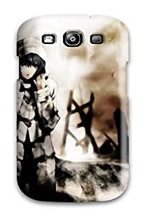 Dixie Delling Meier's Shop Best 1881793K95372719 Ultra Slim Fit Hard Case Cover Specially Made For Galaxy S3- Rei Ayanami
