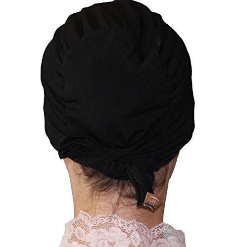Firdevs Luxury Jersey Islamic Hijab Underscarf Muslim Cap Bonnet Black