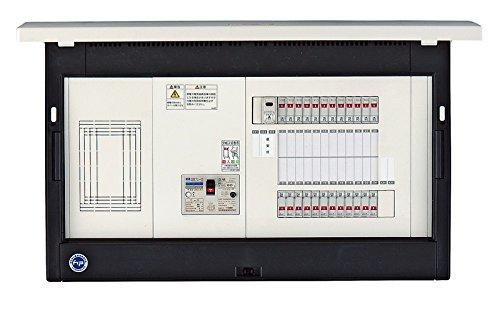 河村電器 樹脂製 ホーム分電盤 enステーション 保安灯付 フタ付 ELR 6400-L B077MWLW8C