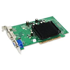 EVGA GeForce 6200 512 MB DDR2 AGP 8X VGA/DVI-I/S-Video Graphics Card, 512-A8-N403-LR