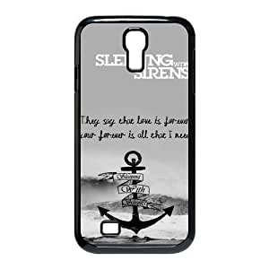 Sleeping with Sirens Hard Cover Samsung Galxy S4 I9500/I9502 Back Fit Cases SGS1150