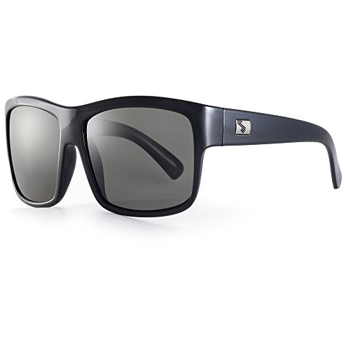 Sundog Connoisseur Frame with Polarized Lens, Shiny Black with - Sundog Sunglasses Polarized