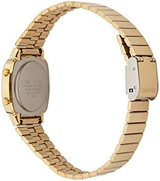 CASIO Women's Classic Vintage Quartz Watch with Stainless Steel Strap, Gold, 10 (Model: LA670WGA-9) WeeklyReviewer