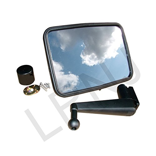 LAND ROVER DEFENDER 90 /110 UNBREAKABLE MIRROR AND SHORT ARM ASSEMBLY RH OR LH PART: (Rover Short)