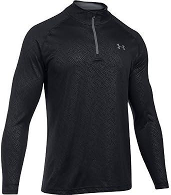 Under Armour Mens Ua Tech Emboss 1//4 Zip Long-Sleeve Shirt