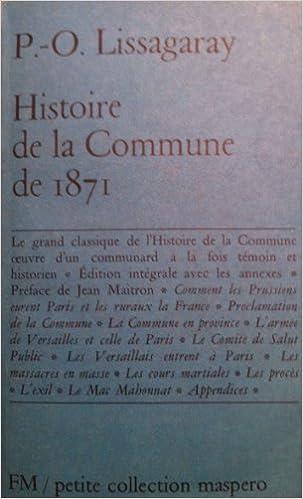 HISTOIRE DE LA COMMUNE 1871