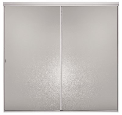 STERLING/KINKEAD 695B-48S-G02 42-48'' Silver By Shower Door by sterling/kinkead