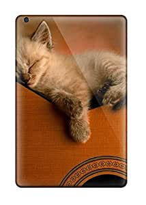 Ideal CharlesRaymondBaylor Case Cover For Ipad Mini/mini 2(kitten On Guitar), Protective Stylish Case