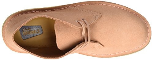 Clarks Originals Boot, Botas Desert para Mujer Rosa (Dusty Pink)