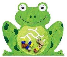 Anatex Frog Wall Panel - Wall Toy Activity Panel