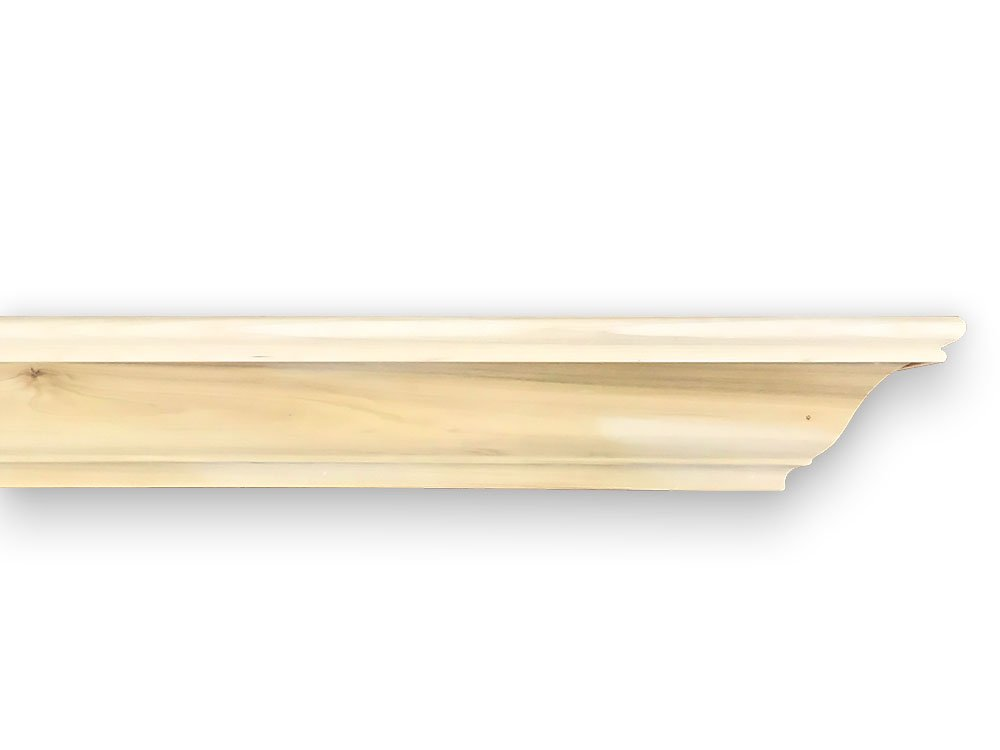 Madison 72 Inch Fireplace Shelf - Unfinished by Mantels Direct