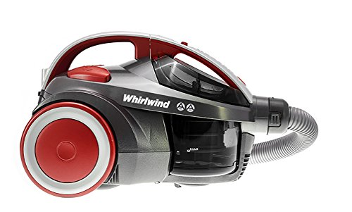 Hoover Whirlwind SE71WR02 Cylinder Vacuum Cleaner with Pets Turbo Brush, 700 W - Grey