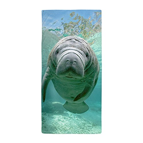 Manatee Towels   Manatee Beach Towel