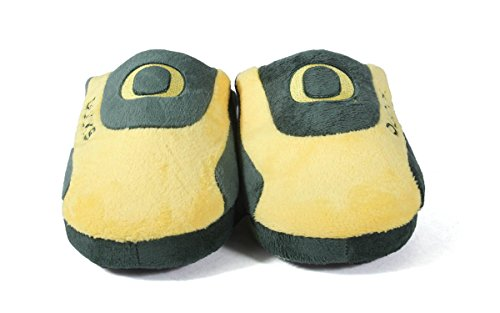 Happy LICENSED Mens NCAA and Feet College Low Ducks Slippers OFFICIALLY Pro Womens Oregon rqrTBwX