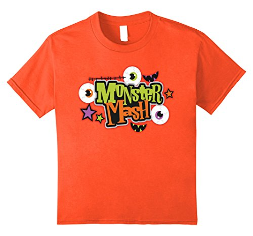 Kids Halloween Costume Shirt Monster Mash Cute Halloween 10 (Monster Mash Child Costumes)