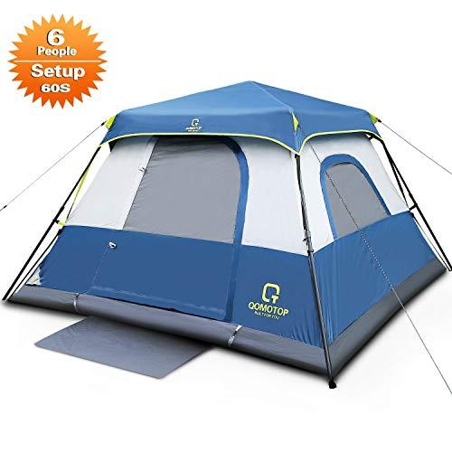 QOMOTOP 6 Person Instant Cabin Tent