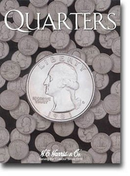 Harris Coin Folder – Quarters-Plain Folder #8HRS2692