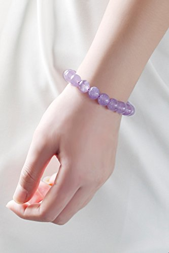 Generic Joking shrine ? natural lavender amethyst bracelet women girls lady noble elegant crystal jewelry bracelets