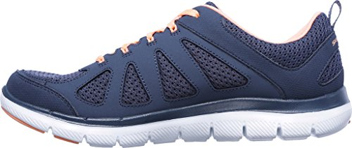 Skechers 12761 Slt/Slt - Zapatos de cordones para mujer slate/coral