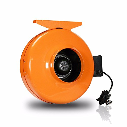 GrowBright High-Velocity 6-Inch Inline Duct Fan