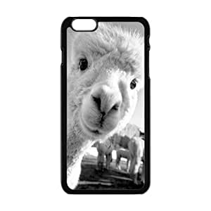 Happy Lovely curious animals Cell Phone Case for Iphone 6 Plus